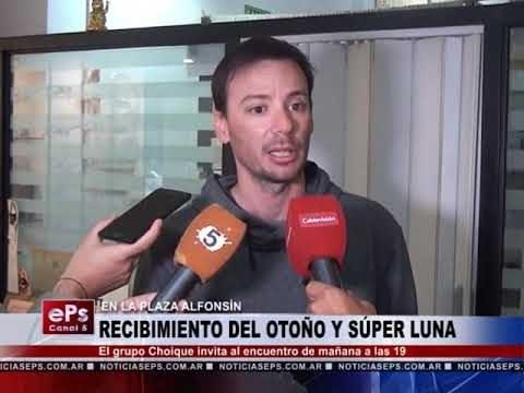 RECIBIMIENTO DEL OTOÑO Y SÚPER LUNA EN LA PLAZA ALFONSIN