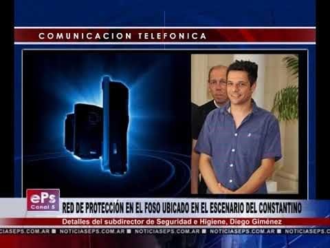 RED DE PROTECCIÓN EN EL FOSO UBICADO EN EL ESCENARIO DEL CONSTANTINO
