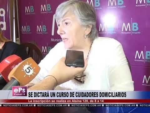 SE DICTARÁ UN CURSO DE CUIDADORES DOMICILIARIOS