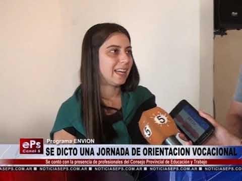 SE DICTO UNA JORNADA DE ORIENTACION VOCACIONAL