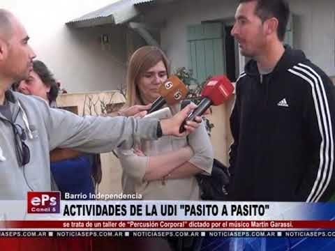 ACTIVIDADES DE LA UDI PASITO A PASITO