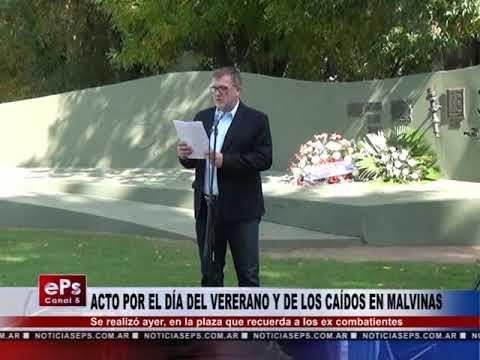ACTO POR EL DÍA DEL VERERANO Y DE LOS CAÍDOS EN MALVINAS