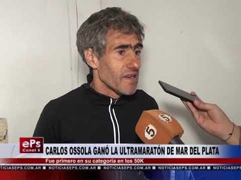 CARLOS OSSOLA GANÓ LA ULTRAMARATÓN DE MAR DEL PLATA