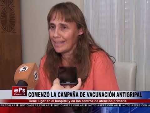 COMENZÓ LA CAMPAÑA DE VACUNACIÓN ANTIGRIPAL