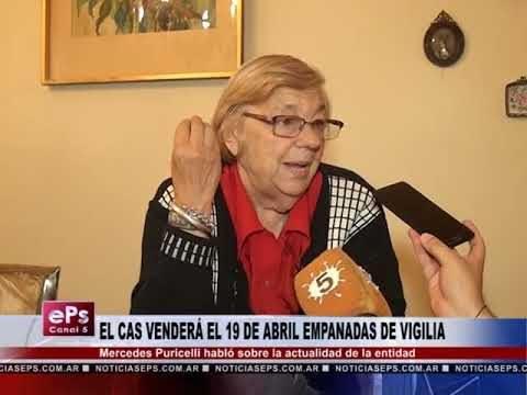 EL CAS VENDERÁ EL 19 DE ABRIL EMPANADAS DE VIGILIA