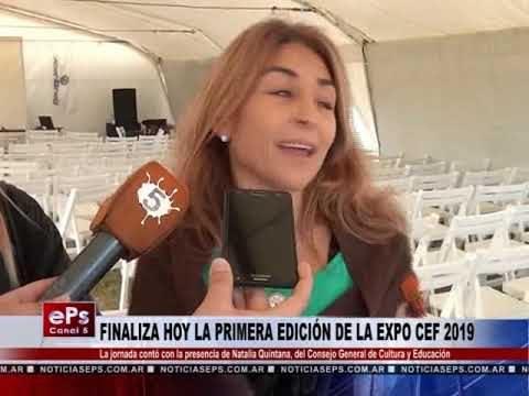 FINALIZA HOY LA PRIMERA EDICIÓN DE LA EXPO CEF 2019