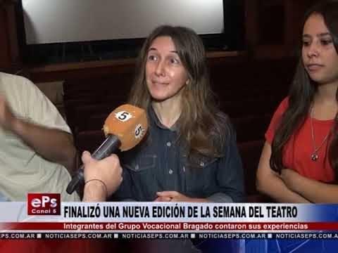 FINALIZÓ UNA NUEVA EDICIÓN DE LA SEMANA DEL TEATRO