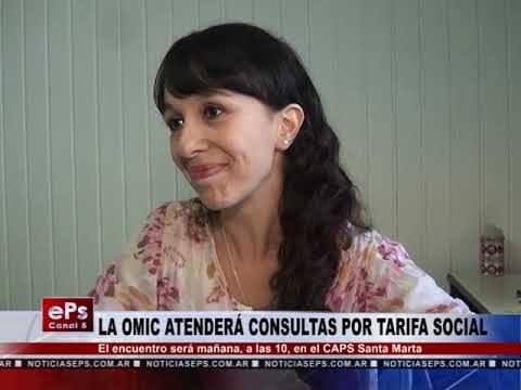 LA OMIC ATENDERÁ CONSULTAS POR TARIFA SOCIAL
