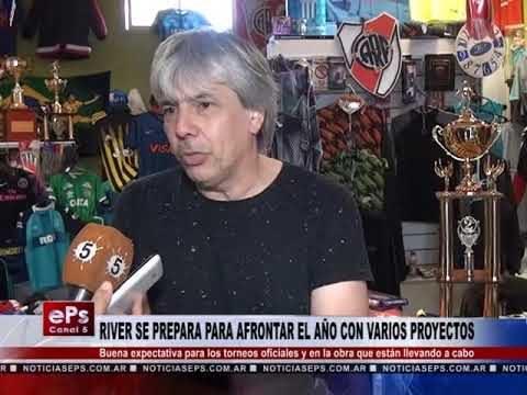 RIVER SE PREPARA PARA AFRONTAR EL AÑO CON VARIOS PROYECTOS