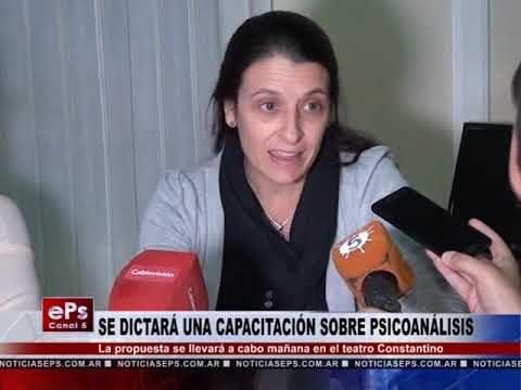 SE DICTARÁ UNA CAPACITACIÓN SOBRE PSICOANÁLISIS