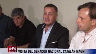 VISITA DEL SENADOR NACIONAL CATALÁN MAGNI