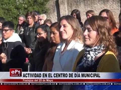 ACTIVIDAD EN EL CENTRO DE DÍA MUNICIPAL