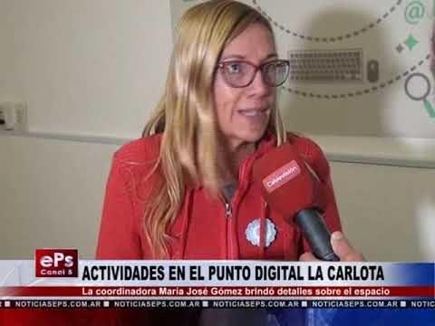 ACTIVIDADES EN EL PUNTO DIGITAL LA CARLOTA