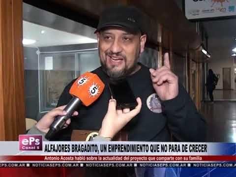 ALFAJORES BRAGADITO, UN EMPRENDIMIENTO QUE NO PARA DE CRECER