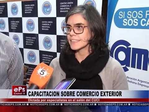 CAPACITACION SOBRE COMERCIO EXTERIOR