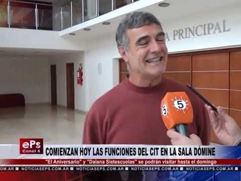 COMIENZAN HOY LAS FUNCIONES DEL CIT EN LA SALA DÓMINE