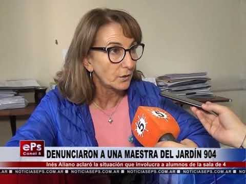 DENUNCIARON A UNA MAESTRA DEL JARDÍN 904