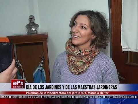 DÍA DE LOS JARDINES Y DE LAS MAESTRAS JARDINERAS