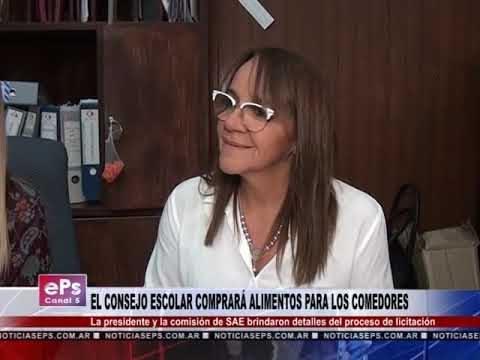 EL CONSEJO ESCOLAR COMPRARÁ ALIMENTOS PARA LOS COMEDORES