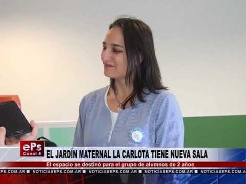 EL JARDÍN MATERNAL LA CARLOTA TIENE NUEVA SALA