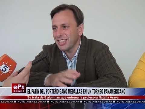 EL PATÍN DEL PORTEÑO GANÓ MEDALLAS EN UN TORNEO PANAMERICANO