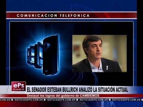 EL SENADOR ESTEBAN BULLRICH ANALIZÓ LA SITUACIÓN ACTUAL