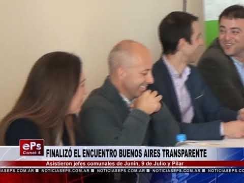 FINALIZÓ EL ENCUENTRO BUENOS AIRES TRANSPARENTE