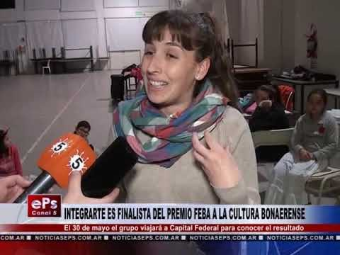 INTEGRARTE ES FINALISTA DEL PREMIO FEBA A LA CULTURA BONAERENSE