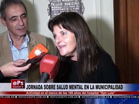 JORNADA SOBRE SALUD MENTAL EN LA MUNICIPALIDAD