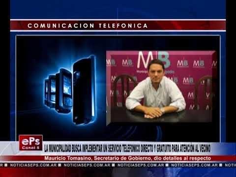 LA MUNICIPALIDAD BUSCA IMPLEMENTAR UN SERVICIO TELEFONICO DIRECTO Y GRATUITO PARA ATENCIÒN AL VECINO