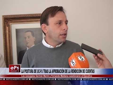 LA POSTURA DE UC PJ TRAS LA APROBACIÓN DE LA RENDICIÓN DE CUENTAS