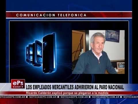 LOS EMPLEADOS MERCANTILES ADHIRIERON AL PARO NACIONAL