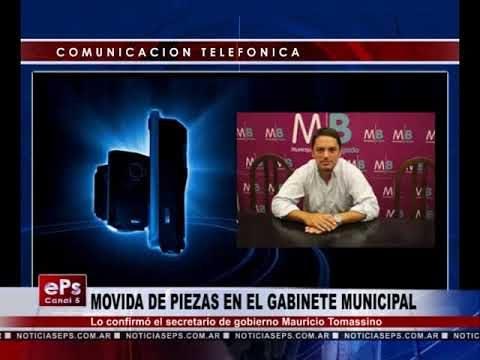 MOVIDA DE PIEZAS EN EL GABINETE MUNICIPAL
