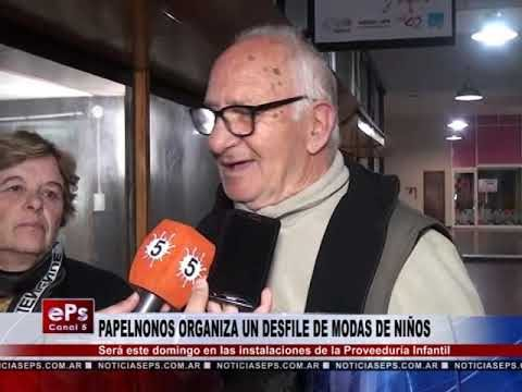 PAPELNONOS ORGANIZA UN DESFILE DE MODAS DE NIÑOS