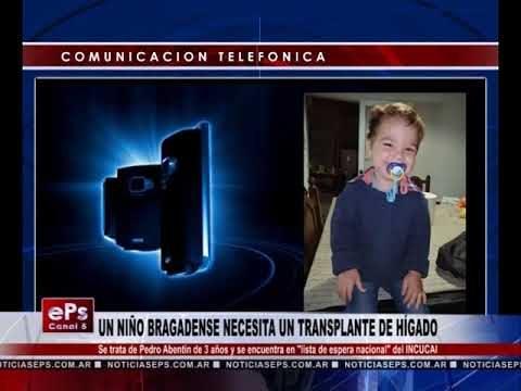 UN NIÑO BRAGADENSE NECESITA UN TRANSPLANTE DE HÍGADO