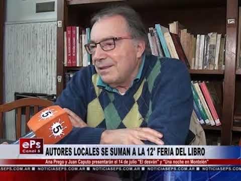 AUTORES LOCALES SE SUMAN A LA 12° FERIA DEL LIBRO