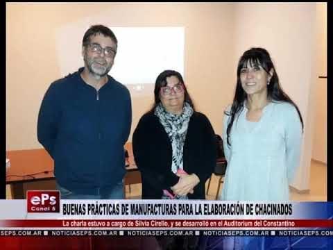 BUENAS PRÁCTICAS DE MANUFACTURAS PARA LA ELABORACIÓN DE CHACINADOS
