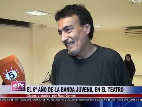 EL 6º AÑO DE LA BANDA JUVENIL EN EL TEATRO