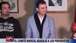 EL COMITÉ RADICAL AGASAJÓ A LOS PERIODISTAS