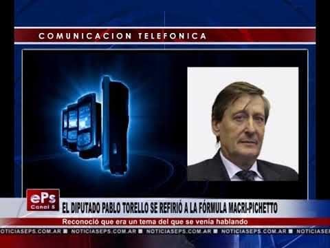 EL DIPUTADO PABLO TORELLO SE REFIRIÓ A LA FÓRMULA MACRI PICHETTO