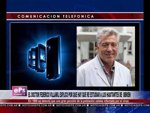 EL DOCTOR FEDERICO VILLAMIL EXPLICO POR QUE HAY QUE RE ESTUDIAR A LOS HABITANTES DE OBRIEN