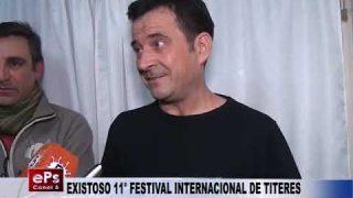 EXISTOSO 11° FESTIVAL INTERNACIONAL DE TITERES
