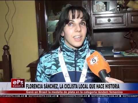 FLORENCIA SÁNCHEZ, LA CICLISTA LOCAL QUE HACE HISTORIA