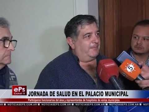 JORNADA DE SALUD EN EL PALACIO MUNICIPAL