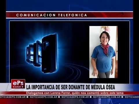 LA IMPORTANCIA DE SER DONANTE DE MÉDULA ÓSEA