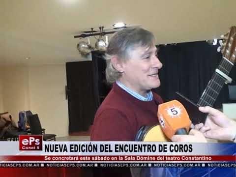 NUEVA EDICIÓN DEL ENCUENTRO DE COROS