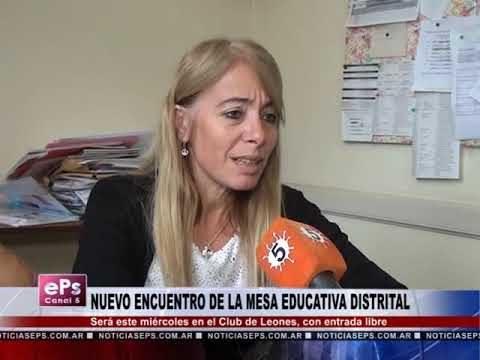 NUEVO ENCUENTRO DE LA MESA EDUCATIVA DISTRITAL