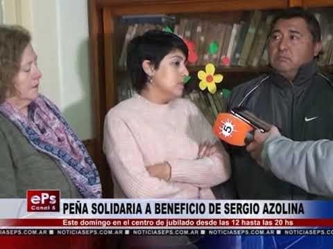 PEÑA SOLIDARIA A BENEFICIO DE SERGIO AZOLINA
