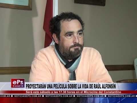 PROYECTARÁN UNA PELÍCULA SOBRE LA VIDA DE RAÚL ALFONSÍN