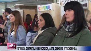 10° FERIA DISTRITAL DE EDUCACION, ARTE, CIENCIAS Y TECNOLOGÍA